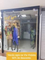 L 1087- Vendo Ágio de loja na via Violeta no Mega