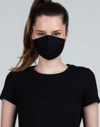 Máscara Ninja - Sucesso de Vendas - Preta - Dupla Camada - Costura Blindada - Algodão