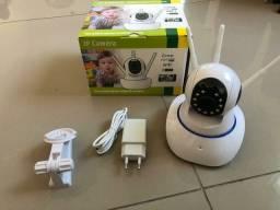 Título do anúncio: Câmera Ip Wireless Sem Fio Wifi Hd 3 Antenas Sensor Noturna
