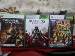 Título do anúncio: Kit 3 Jogos Xbox 360 Originais