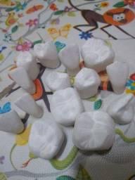 Dentes de gesso