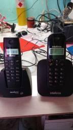 Título do anúncio: 2 telefone Intelbras