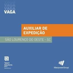 Título do anúncio: Vaga de Auxiliar de Expedição