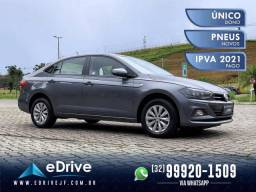 VolksWagen Virtus Comfort. 200 TSI 1.0 Flex Aut. - IPVA 2021 Pago - Econômico - 2019