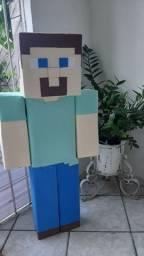 Boneco do Minecraft