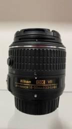 Título do anúncio: Lente Nikon 18-55mm DX VR