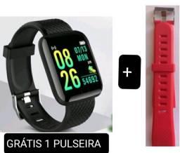 Título do anúncio: LANÇAMENTO Smartwach D13,completo leia  grátis 1 pulseira. ENTREGO