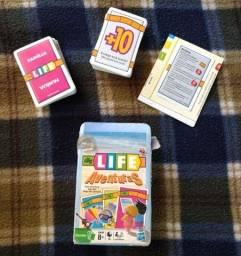 Jogo da Vida (Baralho) Life Aventuras Hasbro