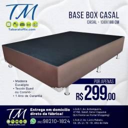 Título do anúncio: Promoção!! Base Box Casal a Partir de R$:299,90! Parcelamos Sem Juros!!