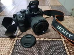 Camera DSLR Sony Alpha 3500 como nova + cartão 32gb