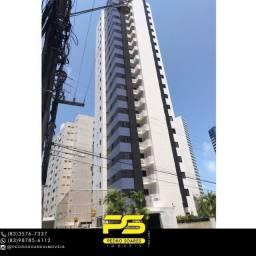 Título do anúncio: Apartamento com 3 dormitórios à venda, 90 m² por R$ 560.000 - Brisamar - João Pessoa/PB
