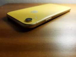 Título do anúncio: iPhone xr Amarelo Impecável