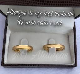 Título do anúncio: Alianças noivado casamento