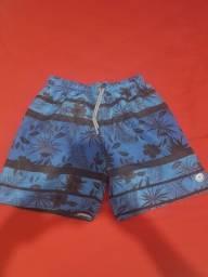 Short de Praia Azul