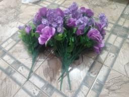 Título do anúncio: Flores artificiais semi novas