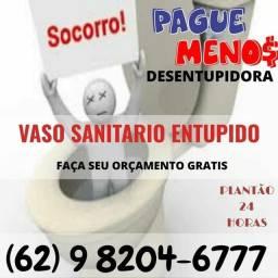 Título do anúncio: :@%@%%@ DESENTUPIDORA DE VASO SANITÁRIO @^@%# DESENTUPIMENTO