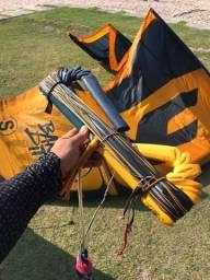 Título do anúncio: Kite F.one Bandit S - 9 metros + Barra