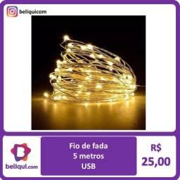 Título do anúncio: Fio de Fada LED | Branco Frio