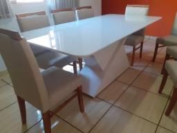 Título do anúncio: Mesa madeira e acabamento laka luxo pronta entrega de 8