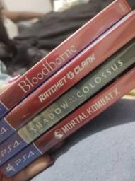 Título do anúncio: Vendo Jogos Originais - PS4