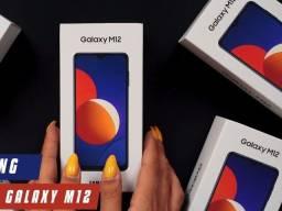 Título do anúncio: Samsung Galaxy M12 lacrado 4gb 64gb com nota fiscal e garantia de 1 ano