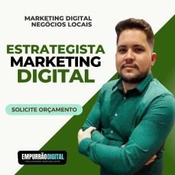 Título do anúncio: Estrategista Marketing Digital - Google Ads e Facebook Ads - Criação de Sites
