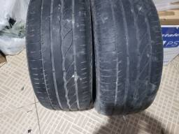 Vendo dois pneus Bridgestone aro 17   255/50r 17