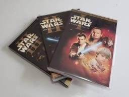 Título do anúncio: Star Wars - episódios 1, 2 e 3
