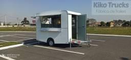 Título do anúncio: Food trailer novo pronta entrega direto da fábrica CAT + CCT
