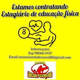 Estagiário de educação física