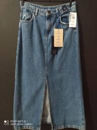 Vendo saia jeans nova