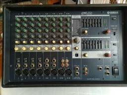 Mesa de som amplificada Yamaha  emx212
