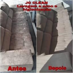 Título do anúncio: Limpeza profunda no seu sofá