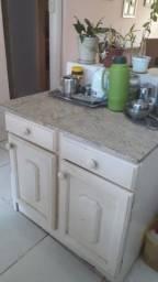 Vendo móveis por mudança,  armários de cozinha com pia inox e fogão incluso R$ 1500.