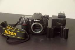 Nikon D7000 Dslr Cor Preto
