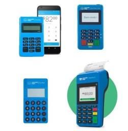 Título do anúncio: Saldão máquinas de cartão Mercado Pago para retirada