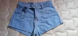 Título do anúncio: Vendo short jeans nunca usado número 40 sem laycra