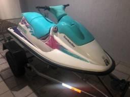 Título do anúncio: jet ski sea doo sp 580 cc com carreta