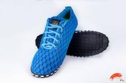 Tênis de dança da Taygra tons de azul