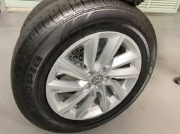 Jogo de rodas com pneus Vw Tcross aro 16, originais, perfeitas !