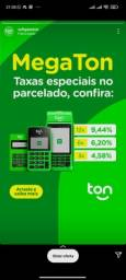 Título do anúncio: Maquininhas Ton: menores taxas(7,44%).