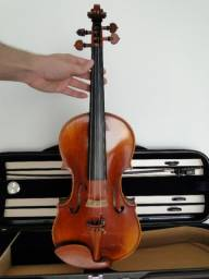 Título do anúncio: Violino 4/4 feito a mão