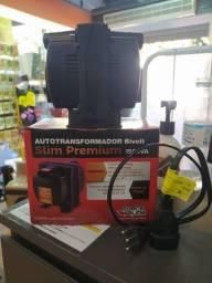Transformador bivolt 1500va slim premium R$179,90