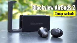 Blackview Airbuds 2, fone tipo pamu quiet, só 200R$