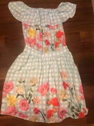 Vestido de crepe tamanho 16