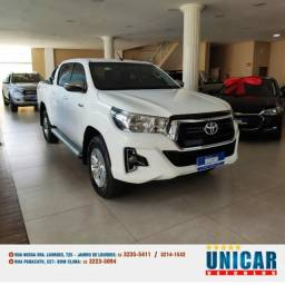 Toyota Hilux Sr 2.8 Branco 2019 Aut. Diesel Completo