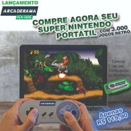 Pen drive com games super Nintendo / playstation