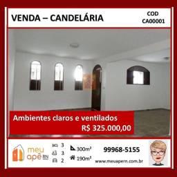 Título do anúncio: Casa para venda  com 3 quartos sendo 1 suíte em Candelária - Natal - RN
