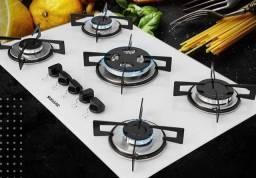 Título do anúncio: Fogão cooktop 5 boca tripla chama SUGGAR em promoção com 1 ano de garantia aproveite!!!