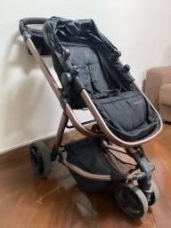 Título do anúncio: Carrinho + bebê conforto Galzerano